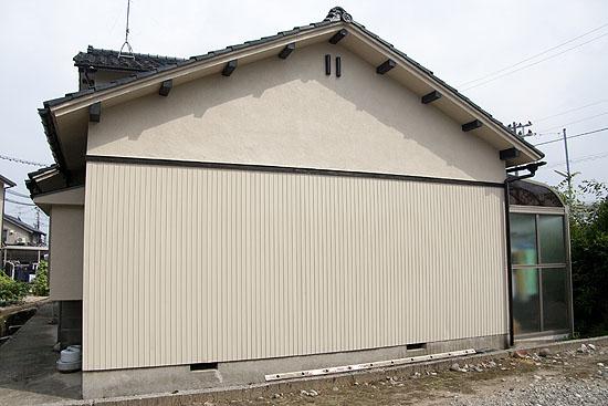 富山の外壁塗装ミネの施工後